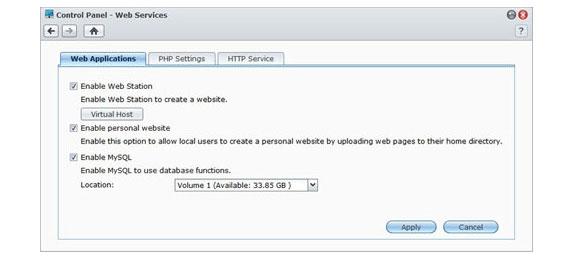 全方位网页架站服务,支援多达30 个网站