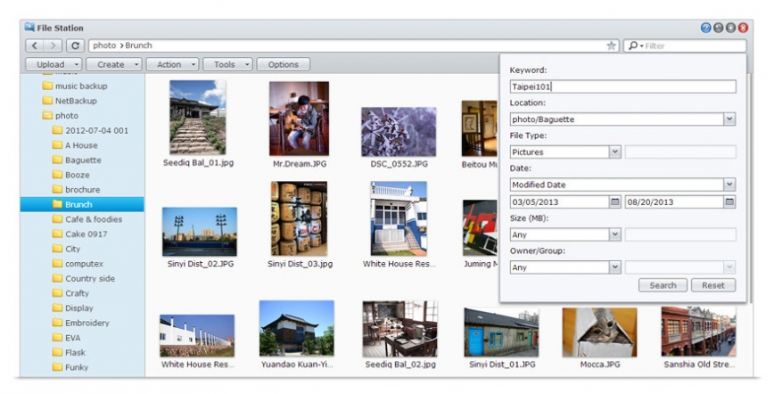 Built-In Search Engine